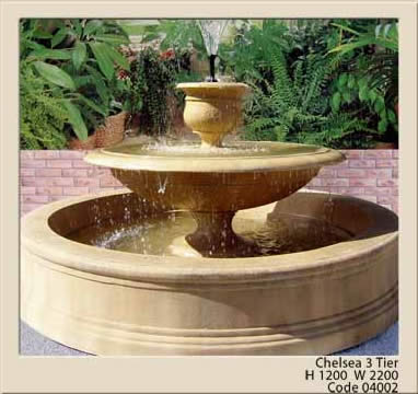 home garden water feature