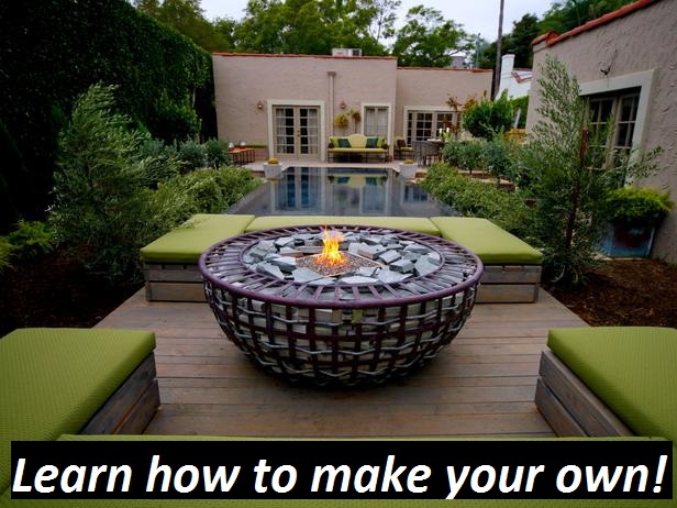 fire pit button home gardens